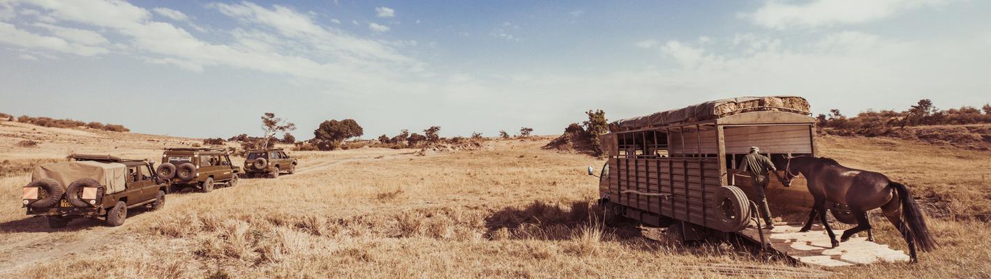 Horseback on safari with Safaris Unlimited Kenya Africa