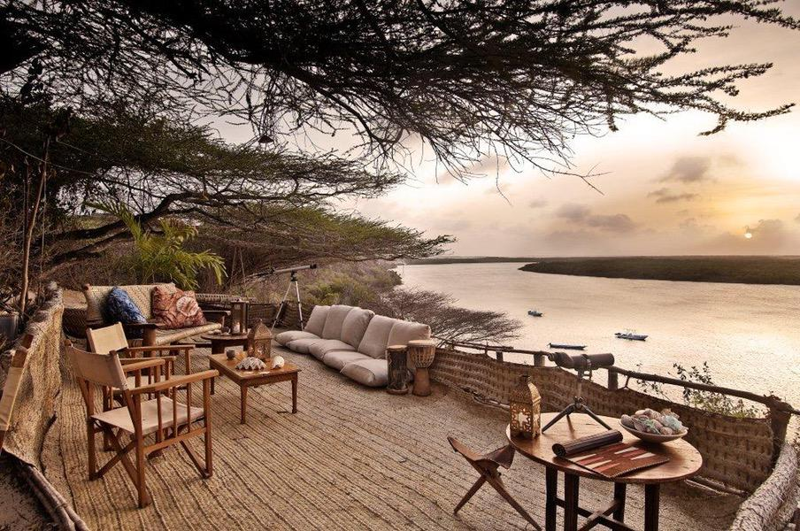 Safaris Unlimited Africa, Mike's Camp, Kiwayu - the Camp