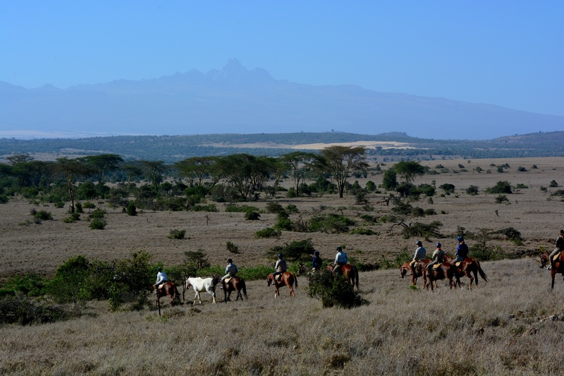 Horseback Safaris in Laikipia Riding on Safari with Safaris Unlimited Africa Wildlife Experience in Kenya