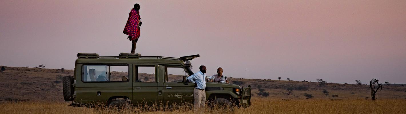 Masai Maasai on safari with Safaris Unlimited Kenya Africa