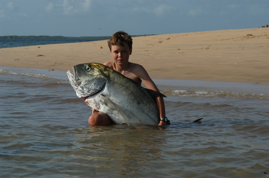 Safaris Unlimited Africa - Fishing at Manda Bay Kenya