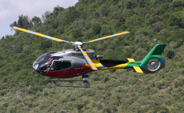 Safaris Unlimited - Helicopter Adventure with Tropic Air in Kenya