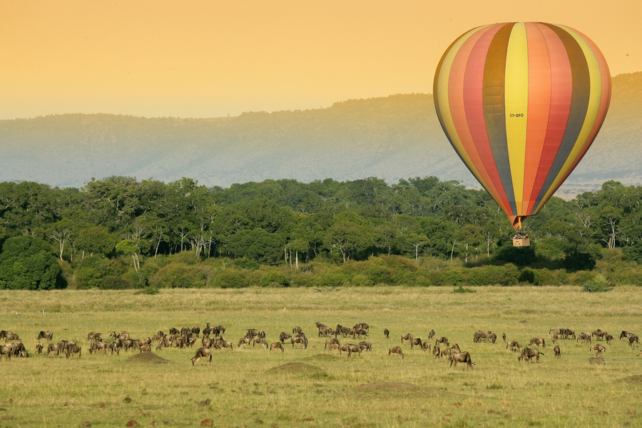 Safaris Unlimited Africa - Masai Mara Balloon Ride