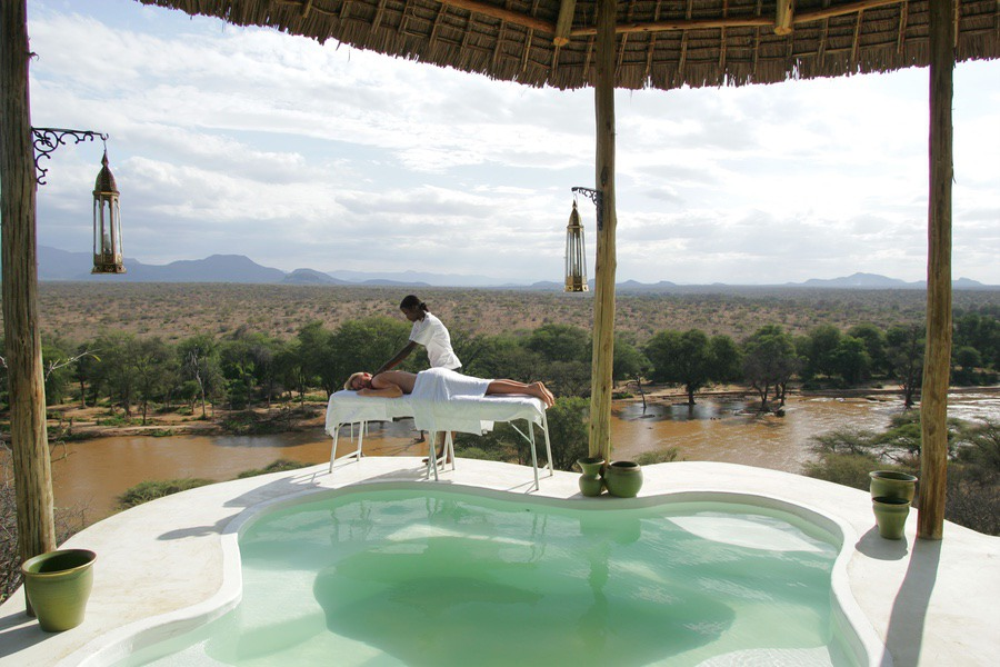 Safaris Unlimited Africa - Sasaab Massage Kenya