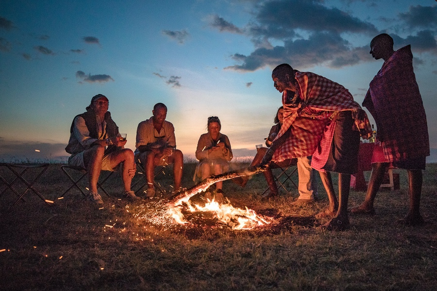 Safaris Unlimited - Stoking the Fire in Kenya Africa