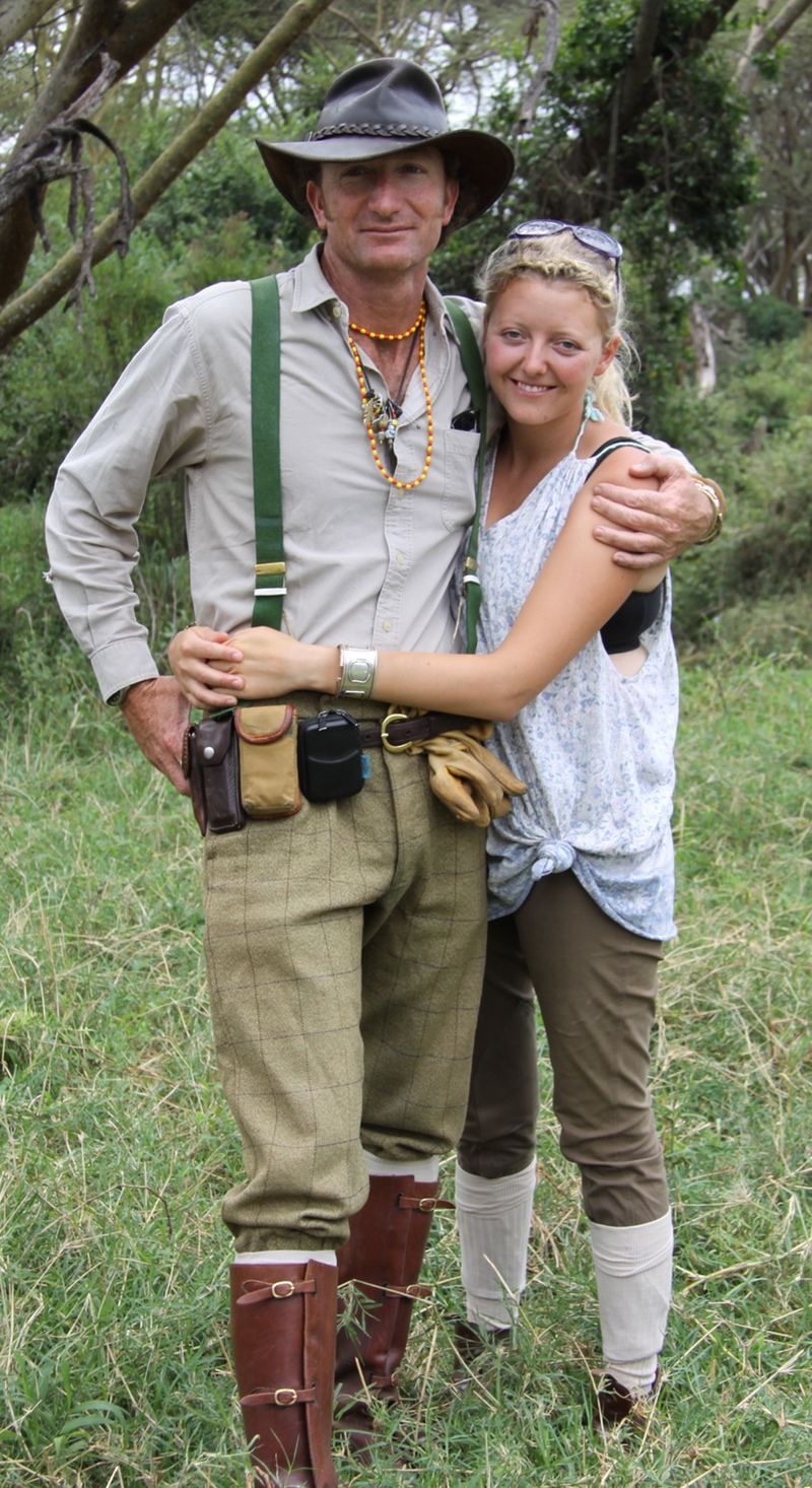 Gordie And Felicia Church Founders of Safaris Unlimited in Kenya, Africa