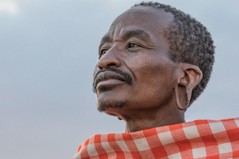 Masai Maasai Elder on Safari with Safaris Unlimited Kenya, Africa