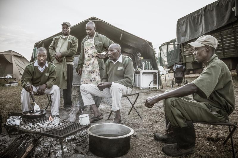 The Team at Safaris Unlimited Africa, on safari in Kenya